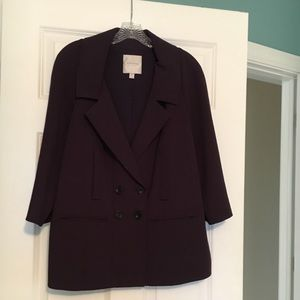 Oversized Buttoned Blazer
